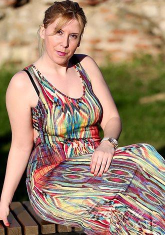 black hair serbian woman